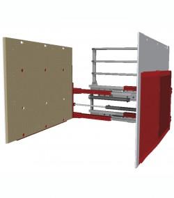 Clamp pentru carton T413G-1L - Clampuri, sisteme de stangere