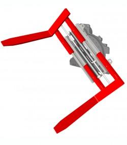 Sistem de strangere furci cu rotire 360 grade T451 - Sisteme cu rotire (furci cu clamp, clampuri, cupe etc.)