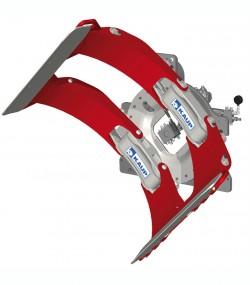 Clamp pentru role cu rotire 360 grade T458 - Sisteme cu rotire (furci cu clamp, clampuri, cupe etc.)