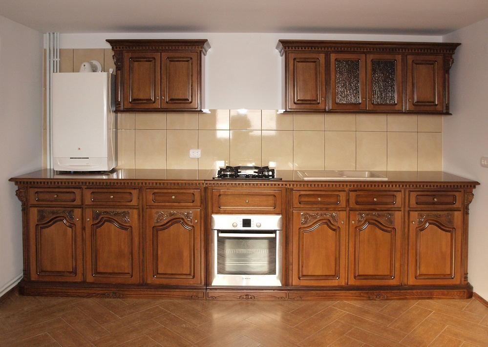 mobilier din lemn masiv pentru bucatarii casa mobila simex. Black Bedroom Furniture Sets. Home Design Ideas