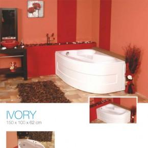 Cada de baie pe colt Ivory - Cada de baie pe colt