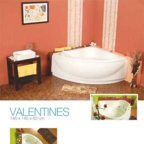 Cada de baie pe colt Valentines - Cada de baie pe colt