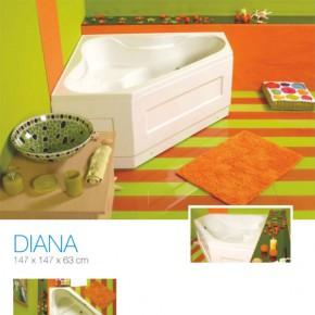 Cada de baie pe colt Diana - Cada de baie pe colt