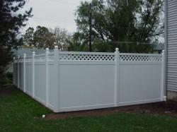 Gard de tip compact - Montana - Garduri din PVC
