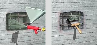 Sika® MonoTop®612 - Gama de mortare cimentoase speciale