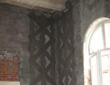 Consolidare pereti Hotel Palace - Govora - Lucrari de reparatii si consolidari