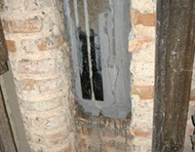 Consolidarea la exterior a turlelor - Biserica Manastirii Golia - Iasi - Lucrari de reparatii si consolidari