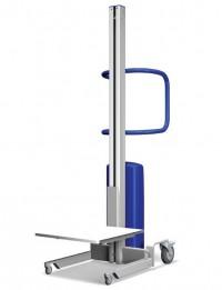 Carucior ergonomic semi-electric din aluminiu 1.450 mm - Transpalete si carucioare speciale