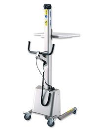 Carucior ergonomic semi-electric din otel inoxidabil 1.765 mm - Transpalete si carucioare speciale