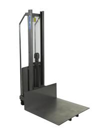 Carucior ergonomic semi-electric din otel inoxidabil 1.500 mm - Transpalete si carucioare speciale