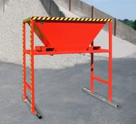 Dispozitiv pentru descarcarea materialelor solide vrac TIP BTM - Containere de constructii