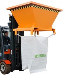 Dispozitiv pentru descarcarea materialelor solide vrac - TIP SBT - Containere de constructii