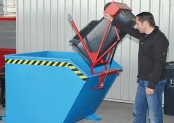 Cos de reciclare TIP SV - Echipamente de basculare