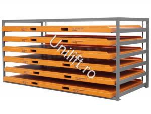 Unitate de depozitare din placi de metal TIP KBR - Echipamente de transport