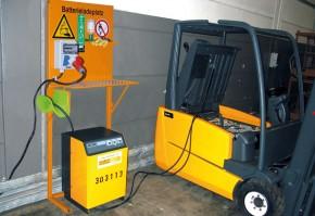Suport statie de incarcare baterie TIP BL - Accesorii