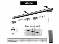 Sina din aluminiu - GIADA - Sine aluminiu - La fereastra