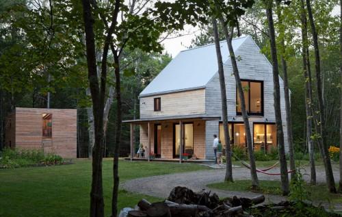 Caleb Johnson Architects casa construita - Si o alta realizare uimitor de precisa, dar mai detaliata, de la Caleb Johnson Architects