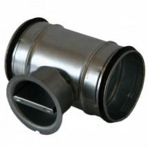 Clapeta de reglaj - Tubulaturi circulare