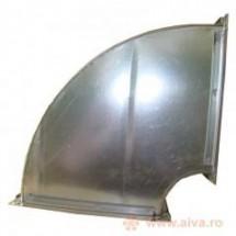 Piesa speciala rectangulara, cot la 90 grade - Tubulaturi rectangulare