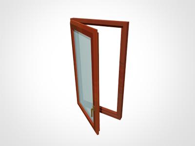 Fereastra cu 1 canat - Alcatuiri ferestre