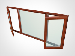 Fereastra banda - Alcatuiri ferestre