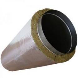 Cos de fum tronson drept izolat - Cosuri de fum metalice