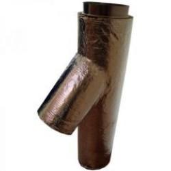 Ramificatie izolata cos de fum - Cosuri de fum metalice