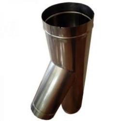 Ramificatie neizolata cos de fum - Cosuri de fum metalice