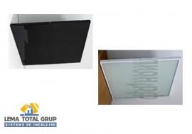 Panou radiant cu posibilitate de incastrare in tavan casetat - THERMOGLASS - A06 - Panouri radiante cu infrarosu - Seria A