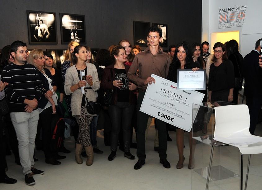 Alex Sandulescu si Iuliana Catalina Simion - Gala premiilor, 3D Dependent de Design 2013