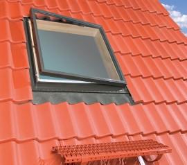 Ferestre de acces pe acoperis cu deschidere laterala - WLI - FERESTRE STANDARD DE ACCES PE ACOPERIS DESTINATE INCAPERILOR NELOCUITE