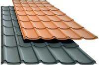 Tabla tip tigla - Plannja Rapid - Tigle metalice din otel zincat la cald sau aluminiu