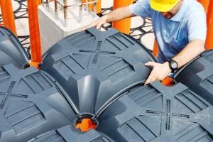 Sistem de cofraje pierdute pentru pardoseli ventilate - New ELEVETOR - Noul sediu al Cartierului general HIGH-TECH al ASEA BROWN BOVERI (ABB) 1