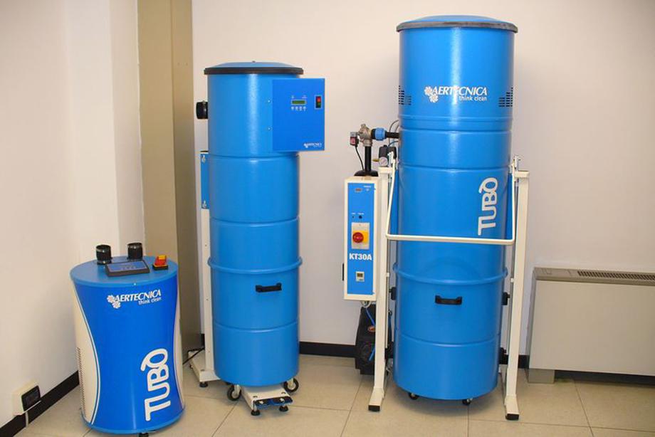 Sistem centralizat de aspiratie TUBO - Sistem centralizat de aspiratie pentru uz industrial TUBO