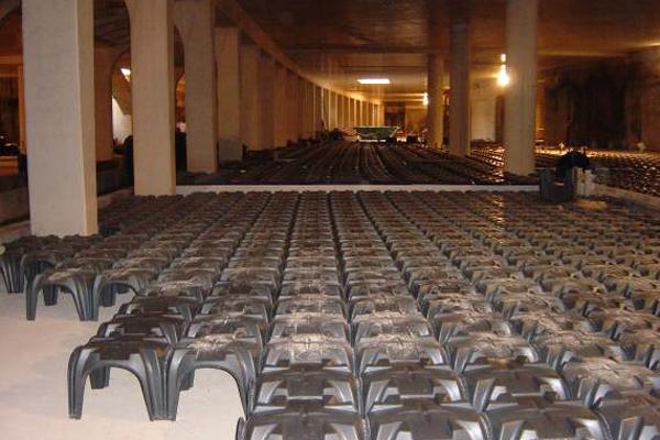 Cofraje pierdute pentru pardoseli ventilate monolitice - MODULO - ORASUL ARTELOR SI STIINTELOR DIN VALENCIA -