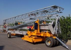 Macara automontanta hidraulic - Saez H32 DR (max 4.000 kg) - Macarale automontante hidraulic - SAEZ