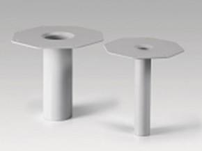 Guri de scurgere verticale din PVC S-Drain PVC - Sarnafil - Sikaplan -Elemente de drenaj prefabricate din PVC