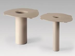 Guri de scurgere verticale din FPO Sarnafil T Drain - Sarnafil - Elemente de drenaj prefabricate din FPO