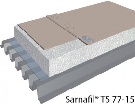 Membrana polimerica pentru impermeabilizarea acoperisurilor Sarnafil® TS 77-15 - Membrane FPO pentru acoperisuri