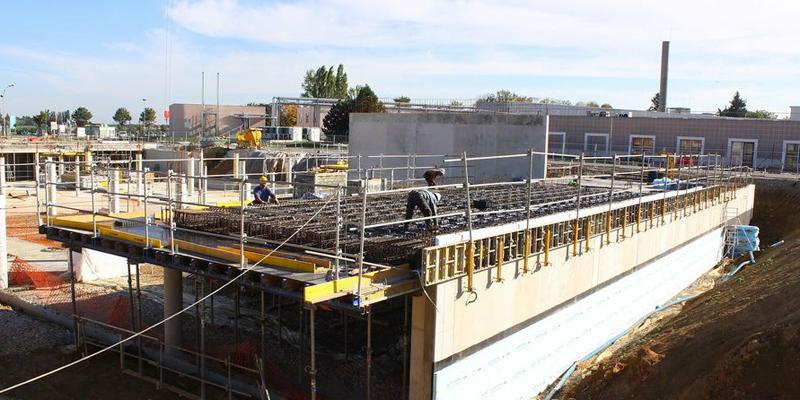 New Nautilius - Centru de Cercetare - Digiteo Labs - Saclay - Franta - Constructia noului