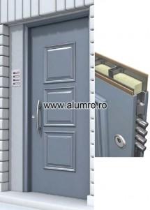 Usa de securitate din aluminiu - Seria SP 3000 - SP 3190 - Usi de securitate din aluminiu - SP 3000
