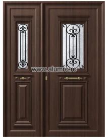 Usa din aluminiu pentru exterior - P105-P100 - Paneluri din aluminiu pentru usi de exterior - P100