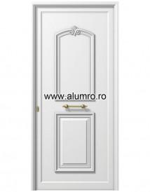 Usa din aluminiu pentru exterior - P113 - Paneluri din aluminiu pentru usi de exterior - P100