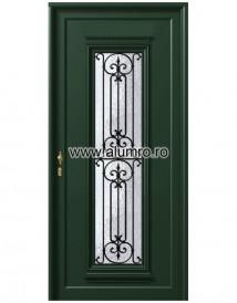 Usa din aluminiu pentru exterior - P124 - Paneluri din aluminiu pentru usi de exterior - P100