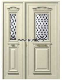 Usa din aluminiu pentru exterior - P179-P178 - Paneluri din aluminiu pentru usi de exterior - P100