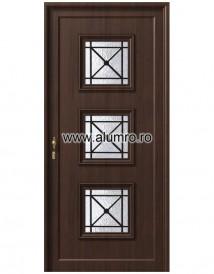 Usa din aluminiu pentru exterior - P193 - Paneluri din aluminiu pentru usi de exterior - P100