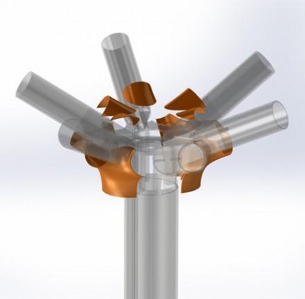 Primul element structural realizat cu o imprimanta 3D - Primul element structural realizat cu o imprimanta 3D