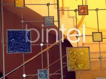 Balustrada din inox cu sticla ornamentala - BINTEL