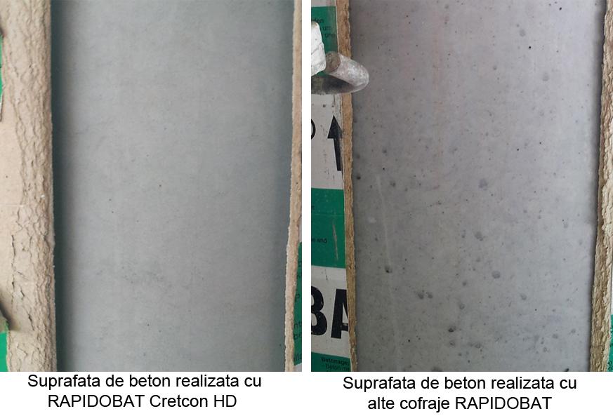 Suprafete de beton cu si fara RAPIDOBAT CRETCON HD - Suprafete de beton cu si fara