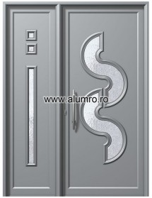 Usa din aluminiu pentru exterior - E563-E561 - Usi din aluminiu pentru exterior - E 2000